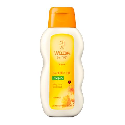масло Weleda Веледа Беби Календула Масло для младенцев с нежным ароматом (Флакон 200 мл) в аптеке ховрино масло для лактации веледа