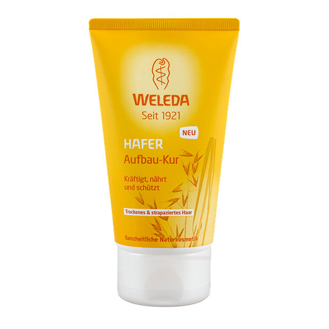 маска Weleda Веледа Овес Маска для сухих и поврежденных волос (Туба 150 мл) weleda масло для волос weleda