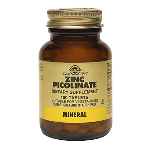 Солгар Пиколинат цинка (100 таблеток) (Solgar)