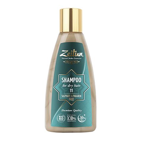 шампунь Zeitun Зейтун Шампунь алеппский №11 питательный для сухих волос (Флакон 150 мл)