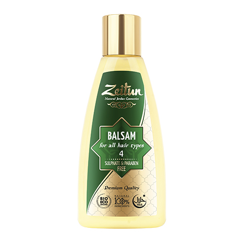 бальзам Zeitun Зейтун Бальзам алеппский №4 для всех типов волос (Флакон 150 мл) зейтун бальзам для волос 5 150 мл