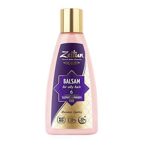 бальзам Zeitun Зейтун Бальзам алеппский №6 для жирных волос (Флакон 150 мл) зейтун бальзам для волос 8 150 мл
