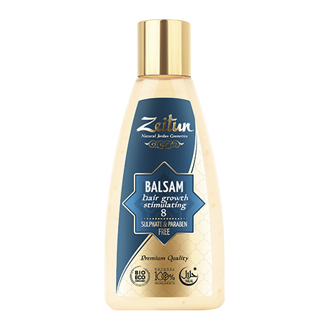 бальзам Zeitun Зейтун Бальзам алеппский №8 стимулирующий рост волос (Флакон 150 мл) зейтун бальзам для волос 5 150 мл