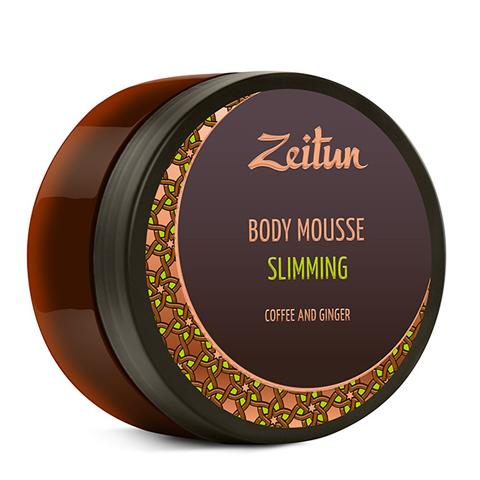 мусс Zeitun Зейтун Мусс для тела Моделирующий Кофе и имбирь (Банка 200 мл)