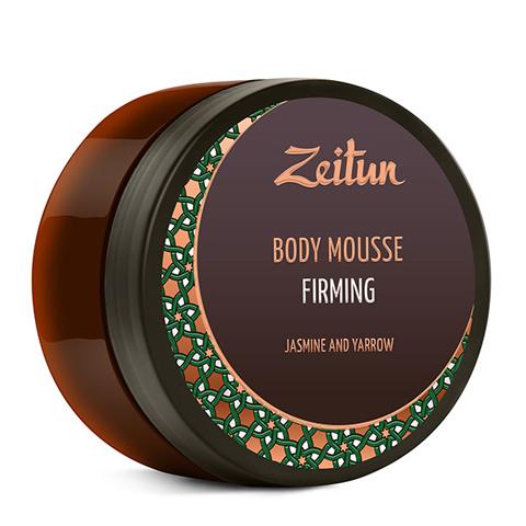 мусс Zeitun Зейтун Мусс для тела Тонизирующий Жасмин и Тысячелистник (Банка 200 мл)