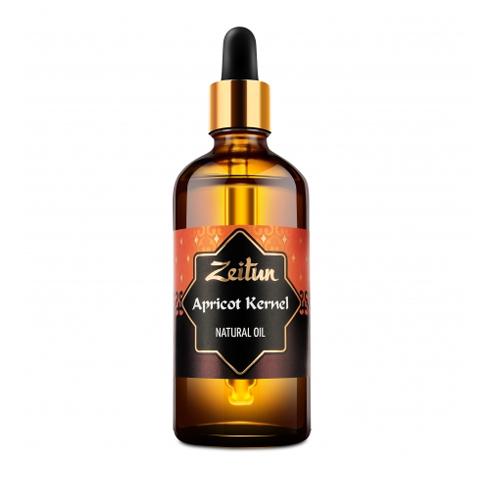 масло Zeitun Зейтун Масло Абрикосовое натуральное (Флакон 100 мл) косметическое средство для интенсивного ухода за чувствительной кожей
