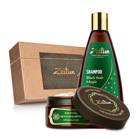 набор Zeitun Зейтун Набор Магия Черного тмина для оздоровления волос (2 средства) (Набор)