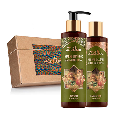 набор Zeitun Зейтун Набор Против выпадения волос (2 средства) (Набор)