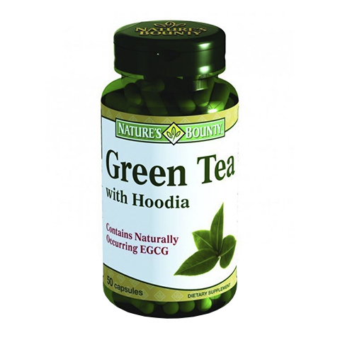 Нэйчес Баунти Чай зеленый с Худией (50 капсул) от Perfectoria