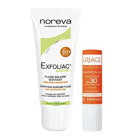 набор Noreva Норева/Урьяж Набор Защита от солнца для проблемной кожи SPF 50+ набор защита от загара с spf 50
