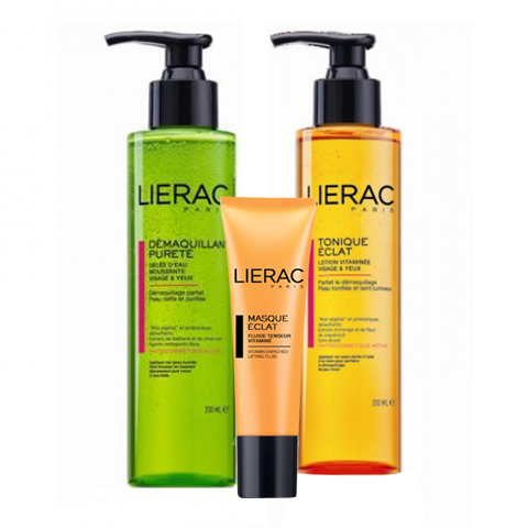 Лиерак Набор Очищение для всех типов кожи (3 средства) (Lierac)