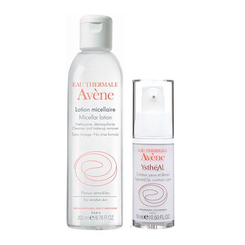 набор Avene Авен Набор Антивозрастной уход за кожей губ и контуром глаз (2 средства) уход за кожей