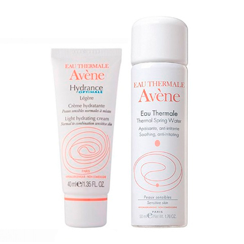 набор Avene Авен Набор Увлажнение для нормальной кожи (2 средства) набор avene авен набор успокаивающий для ухода за кожей вокруг глаз 2 средства