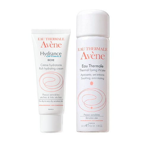 набор Avene Авен Набор Увлажнение для сухой кожи (2 средства) сыворотка avene гидранс оптималь сыворотка