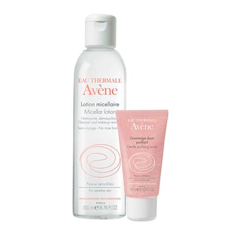 набор Avene Авен Набор Нежное очищение (2 средства) набор perfectstyle набор бритье для чувствительной кожи 2 средства