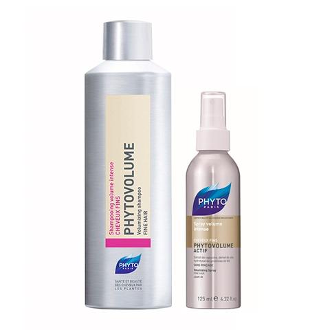 Фито Фитоволюм Набор для укладки волос (2 средства) (Phyto)