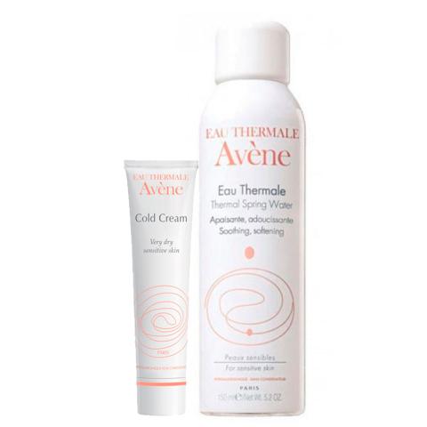 Авен Набор Колд-крем и Термальная вода (2 средства) (Avene)