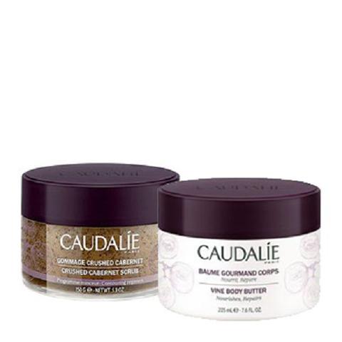 набор Caudalie Кодали Набор Изысканный для тела (2 средства) caudalie скраб для тела cabernet скраб для тела cabernet