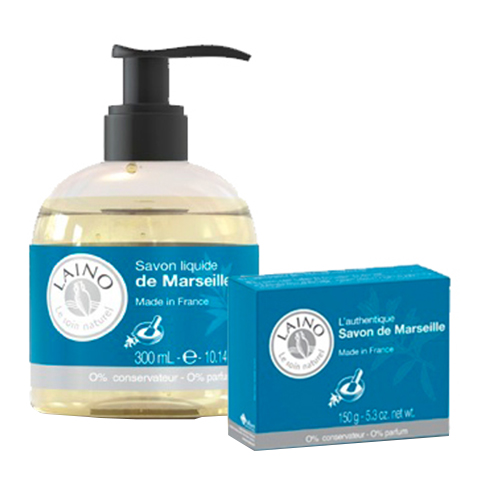 Лено Набор Марсельское мыло (2 средства)