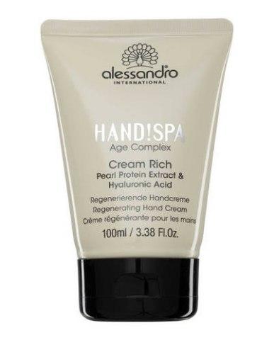 Alessandro Крем-лифтинг Hand!Spa Age Complex Cream Rich для рук: фото, цены, описание товара, отзывы и наличие в Москве и Санкт-Петербурге