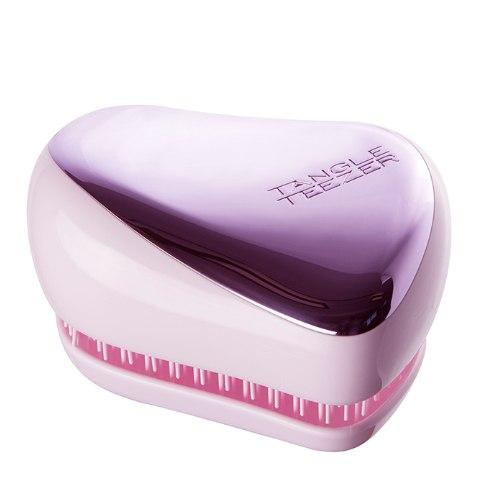 Tangle Teezer Расческа Compact Styler Lilac Gleam, лиловый хром: фото, цены, описание товара, отзывы и наличие в Москве и Санкт-Петербурге