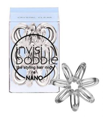 Invisibobble Резинка для волос NANO Crystal Clear, прозрачный: фото, цены, описание товара, отзывы и наличие в Москве и Санкт-Петербурге