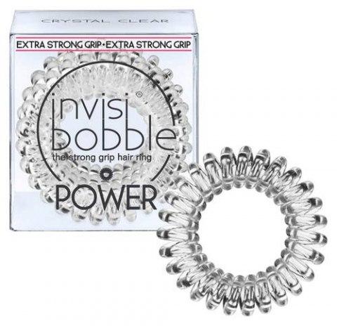 Invisibobble Резинка-браслет для волос POWER Crystal Clear, прозрачный: фото, цены, описание товара, отзывы и наличие в Москве и Санкт-Петербурге