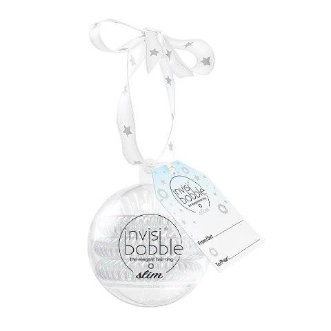 Invisibobble Резинка-браслет для волос SLIM Bauble серебряный (Упаковка 3 шт.): фото, цены, описание товара, отзывы и наличие в Москве и Санкт-Петербурге