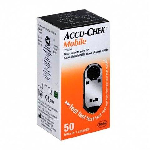 Акку-Чек Мобайл Тест-кассета (Упаковка 50 шт.): фото, цены, описание товара, отзывы и наличие в Москве и Санкт-Петербурге