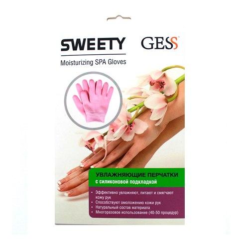 GESS Sweety Перчатки увлажняющие гелевые (1 пара): фото, цены, описание товара, отзывы и наличие в Москве и Санкт-Петербурге