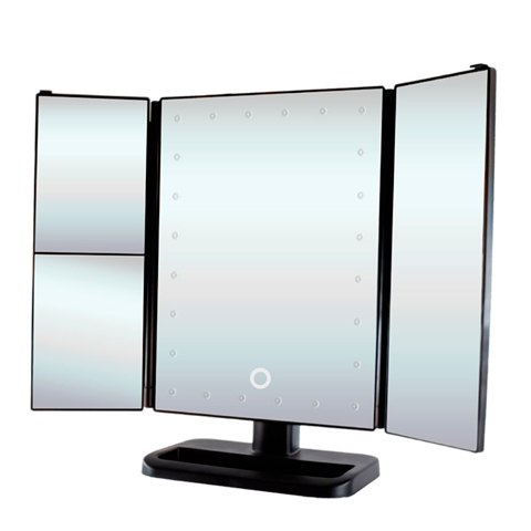 GESS uLike Зеркало для макияжа настольное с подсветкой 24 LED: фото, цены, описание товара, отзывы и наличие в Москве и Санкт-Петербурге
