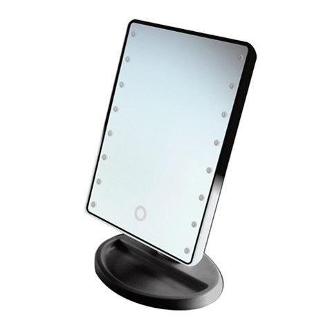 GESS uLike Mini Зеркало для макияжа настольное с подсветкой 16 LED: фото, цены, описание товара, отзывы и наличие в Москве и Санкт-Петербурге