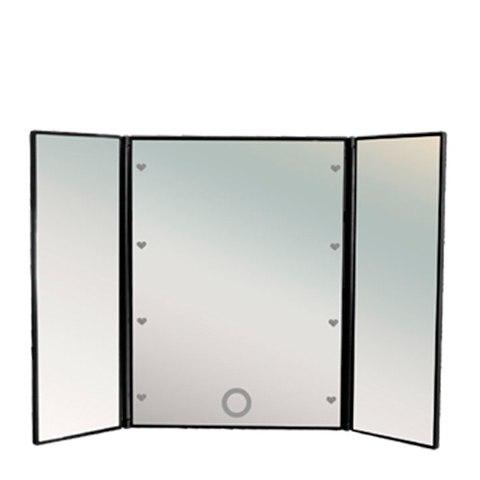 GESS uLike Porto Зеркало для макияжа складное портативное 8 LED: фото, цены, описание товара, отзывы и наличие в Москве и Санкт-Петербурге