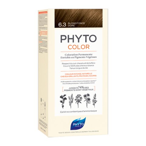Фито Фитоколор Краска для волос 6.3 (Набор, 6 Темный блонд): фото, цены, описание товара, отзывы и наличие в Москве и Санкт-Петербурге