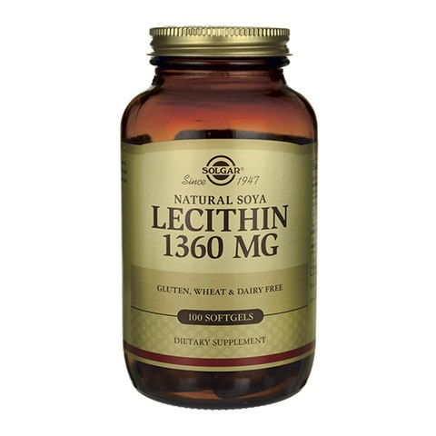 Солгар Натуральный соевый лецитин (100 капсул): фото, цены, описание товара, отзывы и наличие в Москве и Санкт-Петербурге