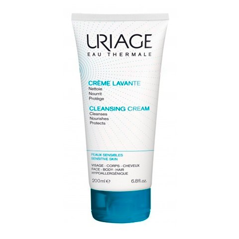 Uriage Nourishing and Cleansing Cream 200ml Kiehls Cucumber Herbal Conditioning Cleanser