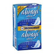 Always Ultra Night Прокладки N7Х2 (7 х 2 шт.): фото, цены, описание товара, отзывы и наличие в Москве и Санкт-Петербурге