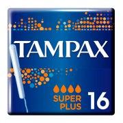 Tampax Тампоны Super Plus с аппликатором N16: фото, цены, описание товара, отзывы и наличие в Москве и Санкт-Петербурге