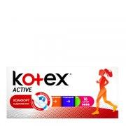 Kotex Active Супер Тампоны N16: фото, цены, описание товара, отзывы и наличие в Москве и Санкт-Петербурге