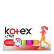 Kotex Active Нормал Тампоны N16: фото, цены, описание товара, отзывы и наличие в Москве и Санкт-Петербурге