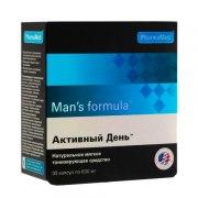 Мен-с формула Активный день (30 капсул): фото, цены, описание товара, отзывы и наличие в Москве и Санкт-Петербурге