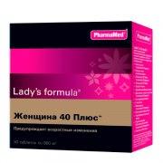 Ледис формула Женщина 40 Плюс (30 таблеток): фото, цены, описание товара, отзывы и наличие в Москве и Санкт-Петербурге