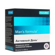 Мен-с формула Активный день (60 капсул): фото, цены, описание товара, отзывы и наличие в Москве и Санкт-Петербурге