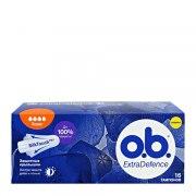o.b. Тампоны Extradefence Super N16: фото, цены, описание товара, отзывы и наличие в Москве и Санкт-Петербурге