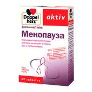Доппельгерц Актив Менопауза (30 таблеток): фото, цены, описание товара, отзывы и наличие в Москве и Санкт-Петербурге