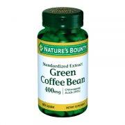 Нэйчес Баунти Зеленые кофейные зерна 400 мг (60 таблеток): фото, цены, описание товара, отзывы и наличие в Москве и Санкт-Петербурге