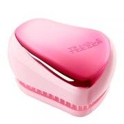 Tangle Teezer Расческа Compact Styler Baby Doll Pink Chrome розовый металлик: фото, цены, описание товара, отзывы и наличие в Москве и Санкт-Петербурге