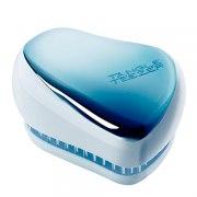 Tangle Teezer Расческа Compact Styler Sky Blue Delight Chrome, синий металлик/голубой: фото, цены, описание товара, отзывы и наличие в Москве и Санкт-Петербурге
