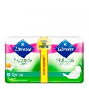 Libresse Natural Care Супер Прокладки N18: фото, цены, описание товара, отзывы и наличие в Москве и Санкт-Петербурге
