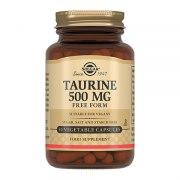 Солгар Таурин 500 мг (50 капсул): фото, цены, описание товара, отзывы и наличие в Москве и Санкт-Петербурге